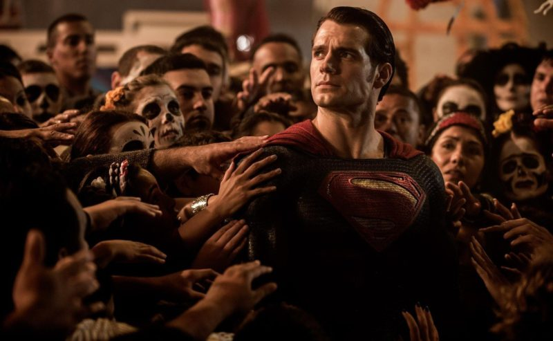 They criticized Henry Cavill's Superman again