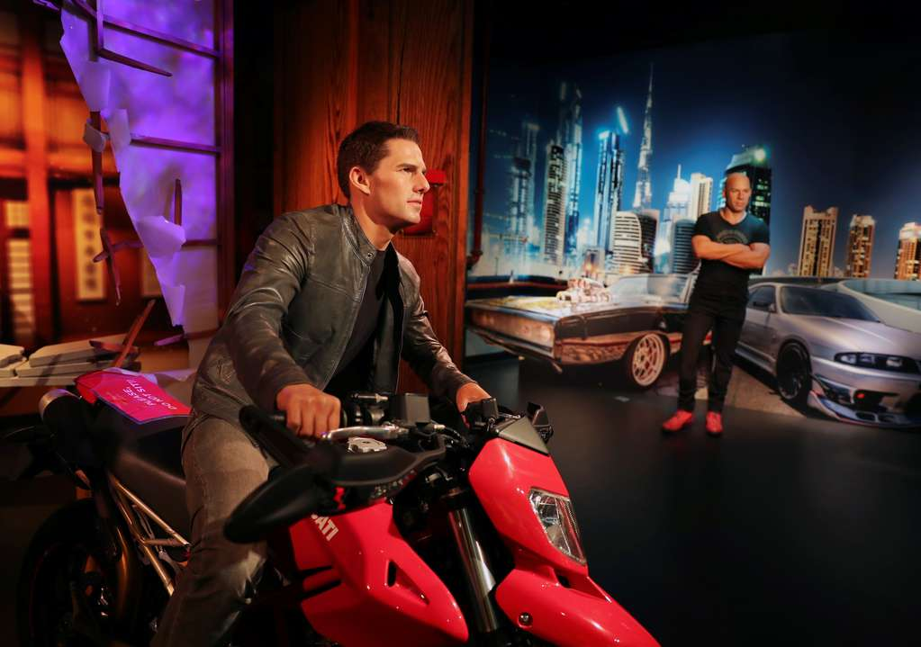 Tom Cruise, Messi, Rihanna and more celebrities are wax statues in Dubai