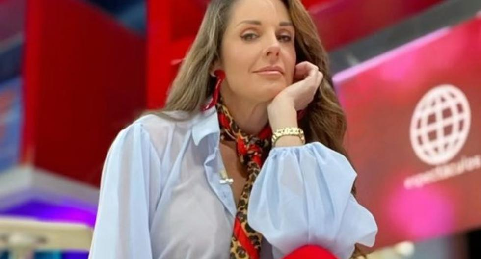 """Rebeca Escribns puts a member of her production in trouble after returning to """"América Espectáculos"""" - MAG."""