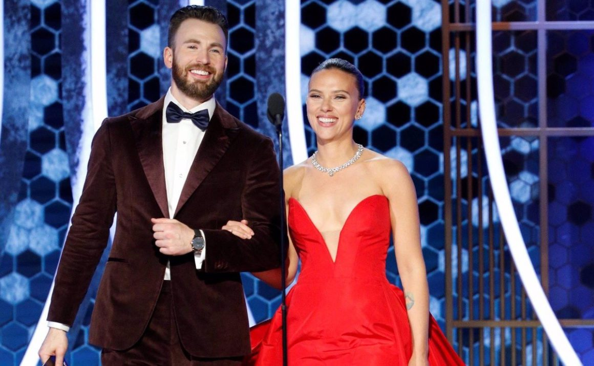 What is the true relationship of Chris Evans and Scarlett Johnasson