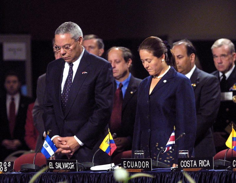 Where was Colin Powell on 9/11 2001?  |  Opinion