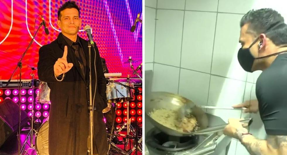 Christian Domínguez unleashes mockery after demonstrating his culinary skills without lighting the kitchen fire - MAG.