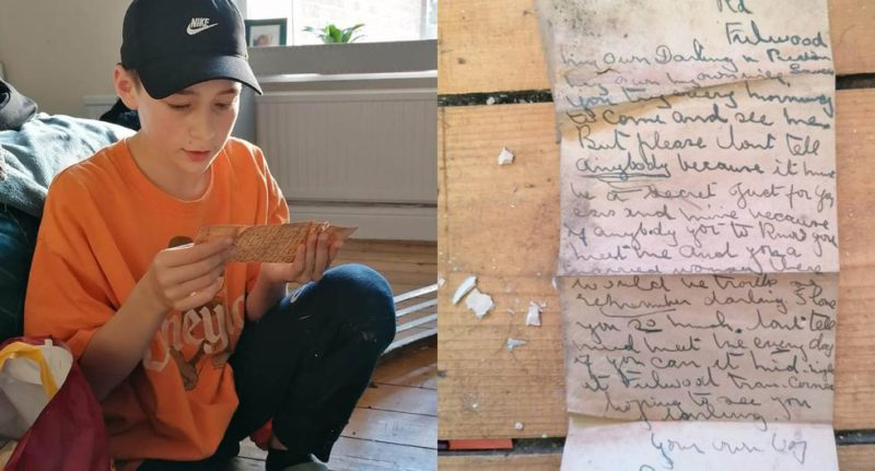 Mother and son find a letter from 100 years ago that reveals a shameful extramarital affair - MAG.