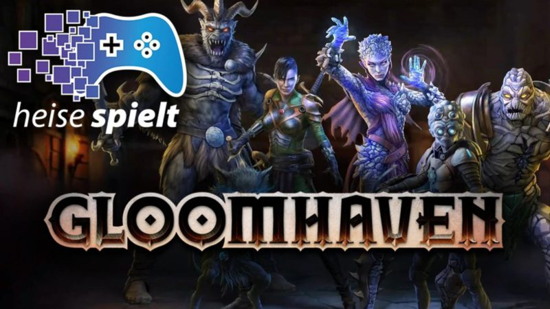 """heise plays """"Gloomhaven"""": the 10-kilo board game on the PC"""